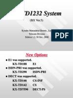 Guia de utilizacion KX-TD1232