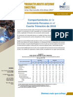 Crecimiento Trimestral de La Economia Peruana