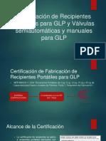 Certificación de Recipientes Portátiles Para GLP y Válvulas - Osinergmin (1)
