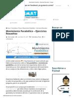 Movimiento Parabolico Ejercicios Resuelt (1)