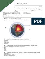 Evaluacion MATEMATICA Unidad.1