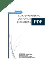 EL BUEN GOBIERNO CORPORATIVO EN EL DERECHO SOCIETARIO