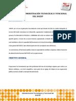 Programacion Academica Diplomado Administración Tecnológica y Funcional Del SIGESP
