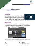 Ejercicios AutoCAD 2014. Curso Practico