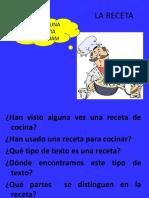 PPT de la receta