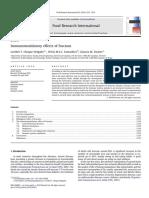 Immunomodulatory Effects of Fructans