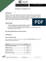 Producto académico N°1 (Contabilidad de costos)