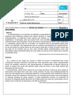 p3 - Português - 6º Ano