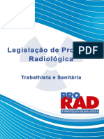Legislação de Proteção Radiológica Trabalhista e Sanitária