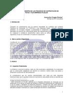 El Arbitraje Dentro de Los Procesos de Contratación de Pdvsa y Sus Filiales