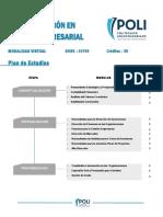 Especializacion en Gestion Empresarial Virtual