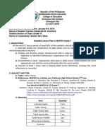 Alcantara Detailed Lesson Plan in MAPEH Grade 7 Table Tennis (1)