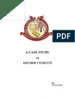 Internship Khybercements Soliha Khan (1)
