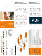 Hand Hygiene When and How Leaflet