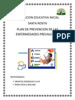 Plan de Prevencion de Enfermedades Prevalentes