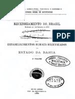 Recenseamento dos Estabelecimentos Rurais do Brasil - 1920 - Segundo Volume.pdf