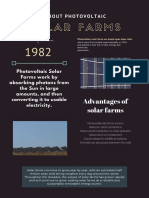 Photovoltaic Solar Farms