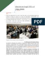 Las Salas de Redacción en El Siglo XXI y El Periodismo de Largo Aliento