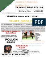 Logo Depelea de Gallos222