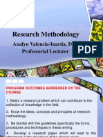 Advanced REsearch Methodology