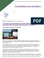Las Empresas Argentinas Lideran La Comercialización Global de Soja Certificada RTRS_ Las Bonificaciones Logradas Son Irrisorias _ Valor Soja