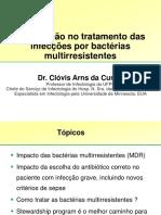 Tratamento de infecções bacterianas multirresistentes