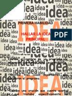 PRIMERA HABILIDAD hallar idea principa 7° y 8°