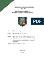 Ejemplo de solución analítica de la ecuación del flujo de agua subterránea