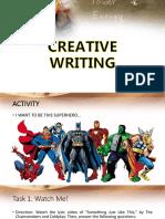 Imaginative vs Technical Writing