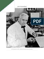Investigación sobre la Penicilina