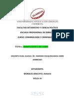 Criminalística de Campo Ama Uladech Juliaca Ix Ciclo 2019.