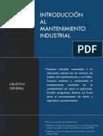 0 Introducción Al Mantenimiento Industrial