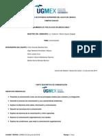 Carta Descriptiva de Comunicación