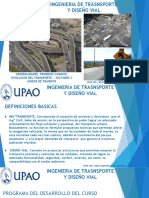 Generalidades, Evolución, Alcances y Factores Del Transporte