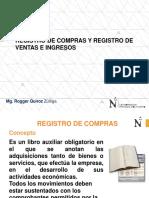 Registro de Comras y Registro de Ventas Ago 2018