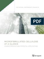 Microfibrillated Cellulose