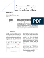 Design of an Autonomous and Preventive Maintenance System