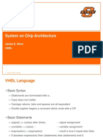 System on Chip Architecture Design Lecture10