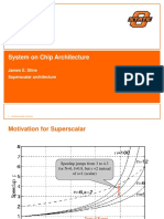 System on Chip Architecture Design Lecture15