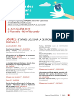 ADEME Colloque 2019 Programme