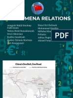 China – Mena Relations Timteng Kel.3