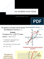 Graphing Inverse Functions