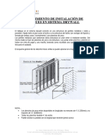 Proceso de Instalacion Tabiques Drywallgrupo Vilor Sac_2018