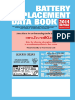 Battery replacement data book