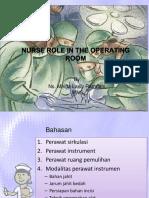 2. Peran Perawat Di Kamar Operasi