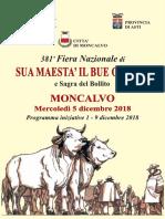 Libretto Bue Grasso 2018