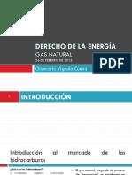 PPT Derecho de La Energia - Gas Natural