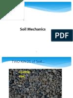 SOIL MECHANICS REVIEW