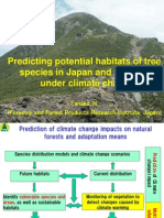 Predicting Potential Habitats of Tree Species in Japan and East Asia Under Climate Change_Tanaka