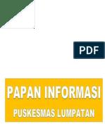 papan informasi